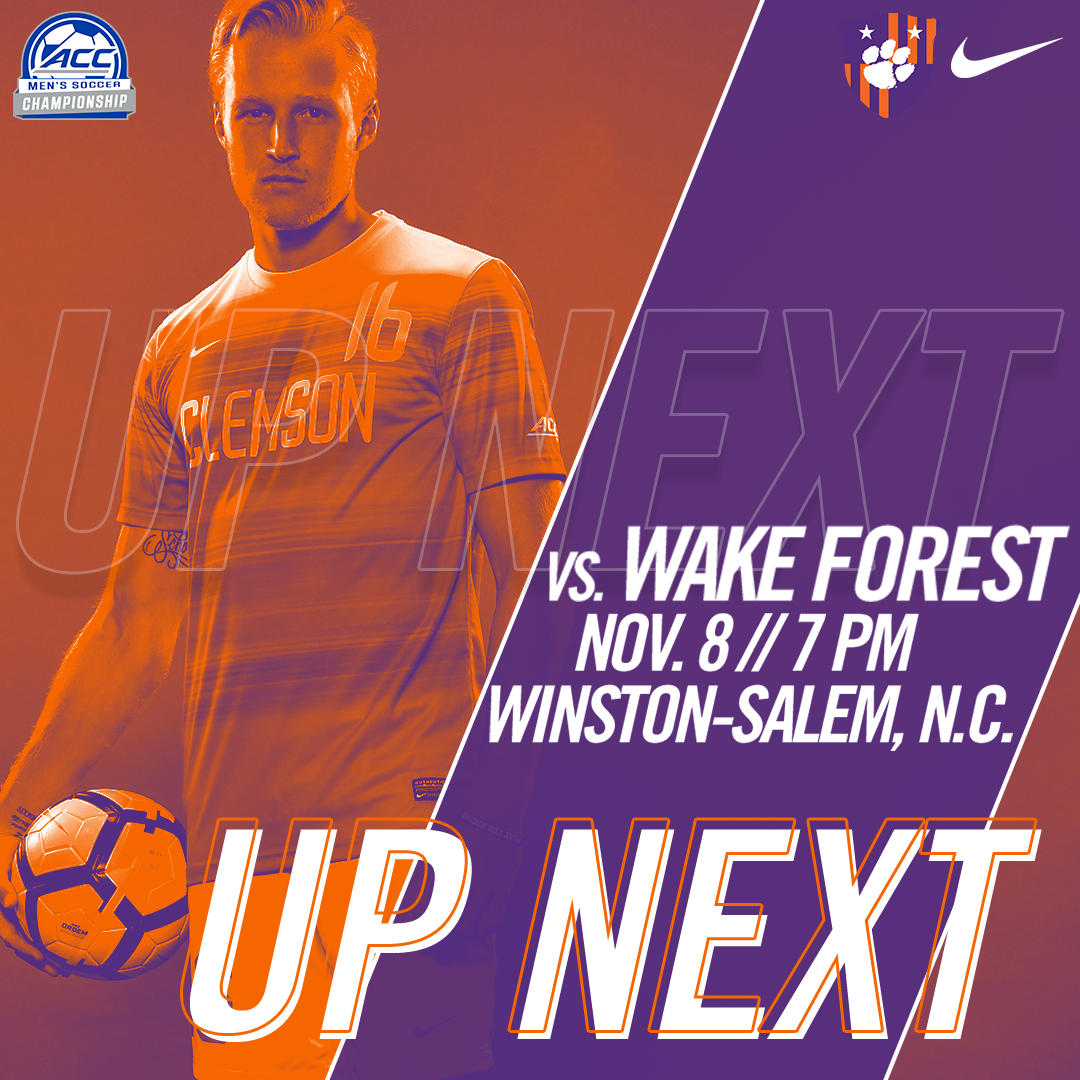No. 5 Clemson To Face No. 1 Wake Forest in ACC Semifinals