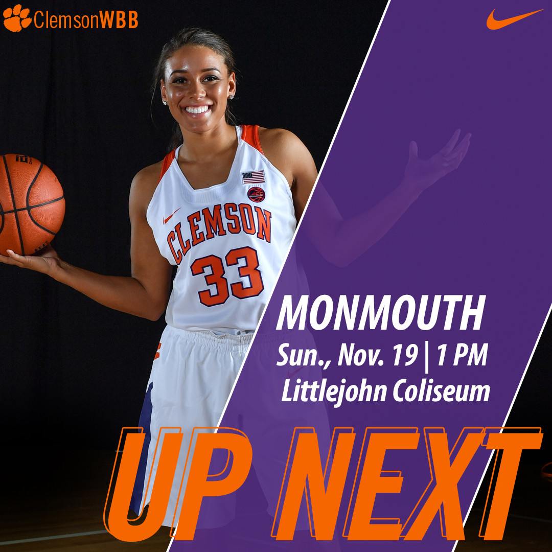 Clemson Hosts Monmouth in Pediatric Cancer Awareness Game Sunday