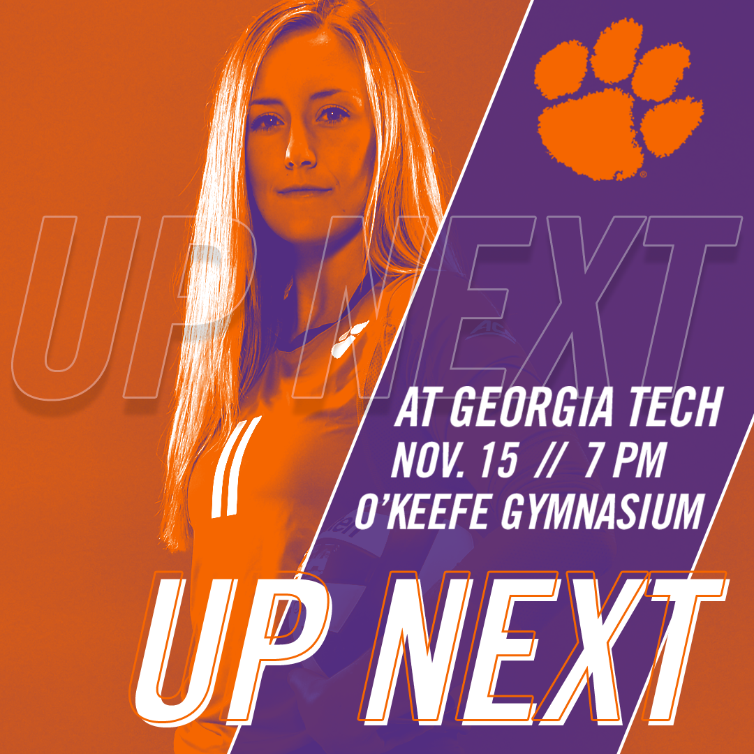Volleyball Travels to Ga. Tech for Midweek Showdown Wednesday