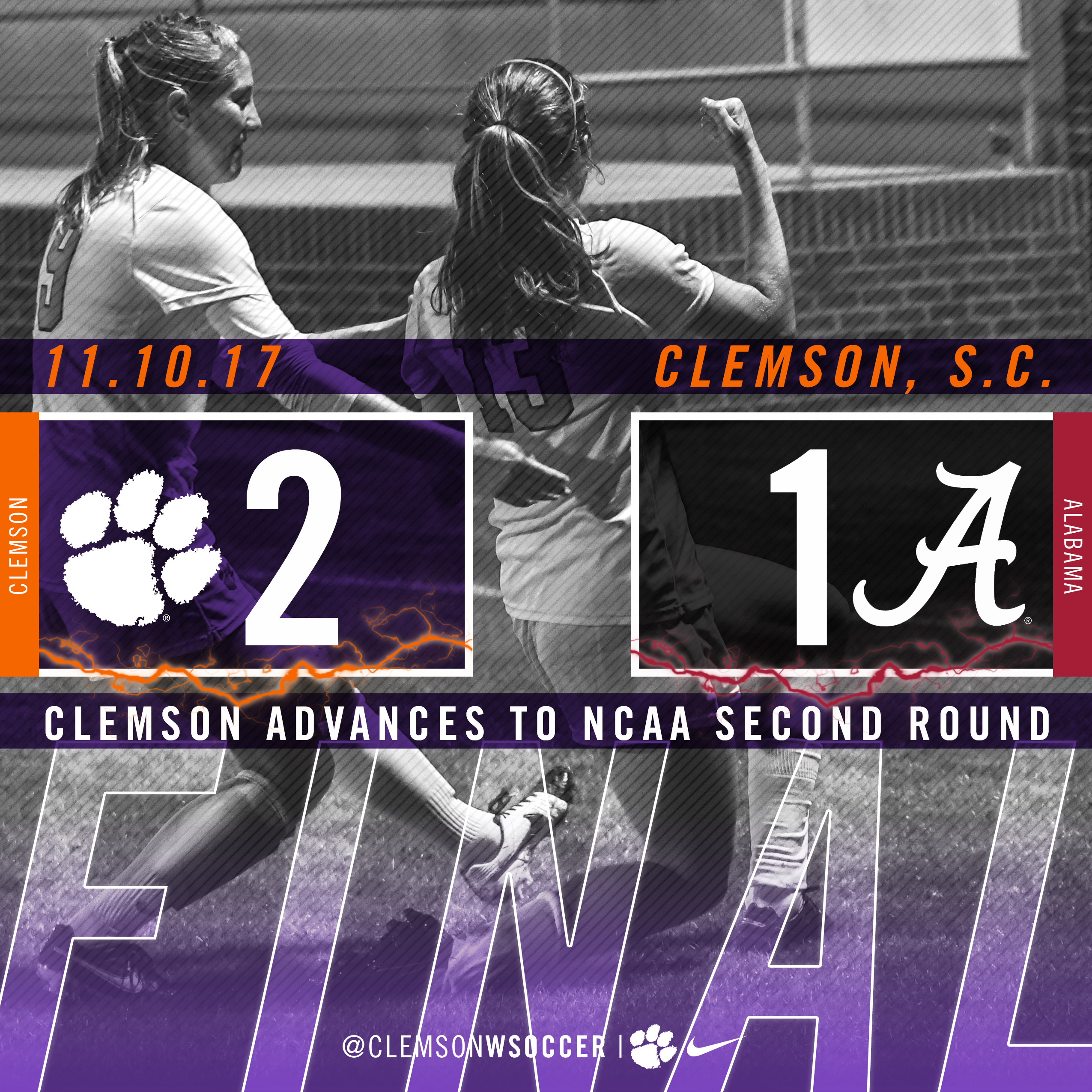 Second Half Spurt Lifts Tigers to NCAA First Round Win Over Alabama Friday