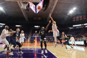 Clemson Women's Basketball || Monmouth Highlights, 11/19/17