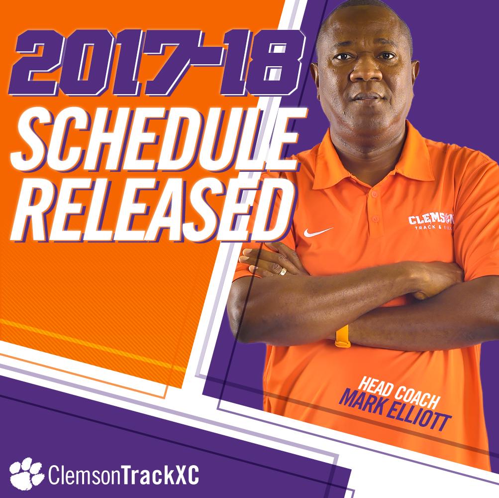 2017-18 Track & Field Schedule Announced