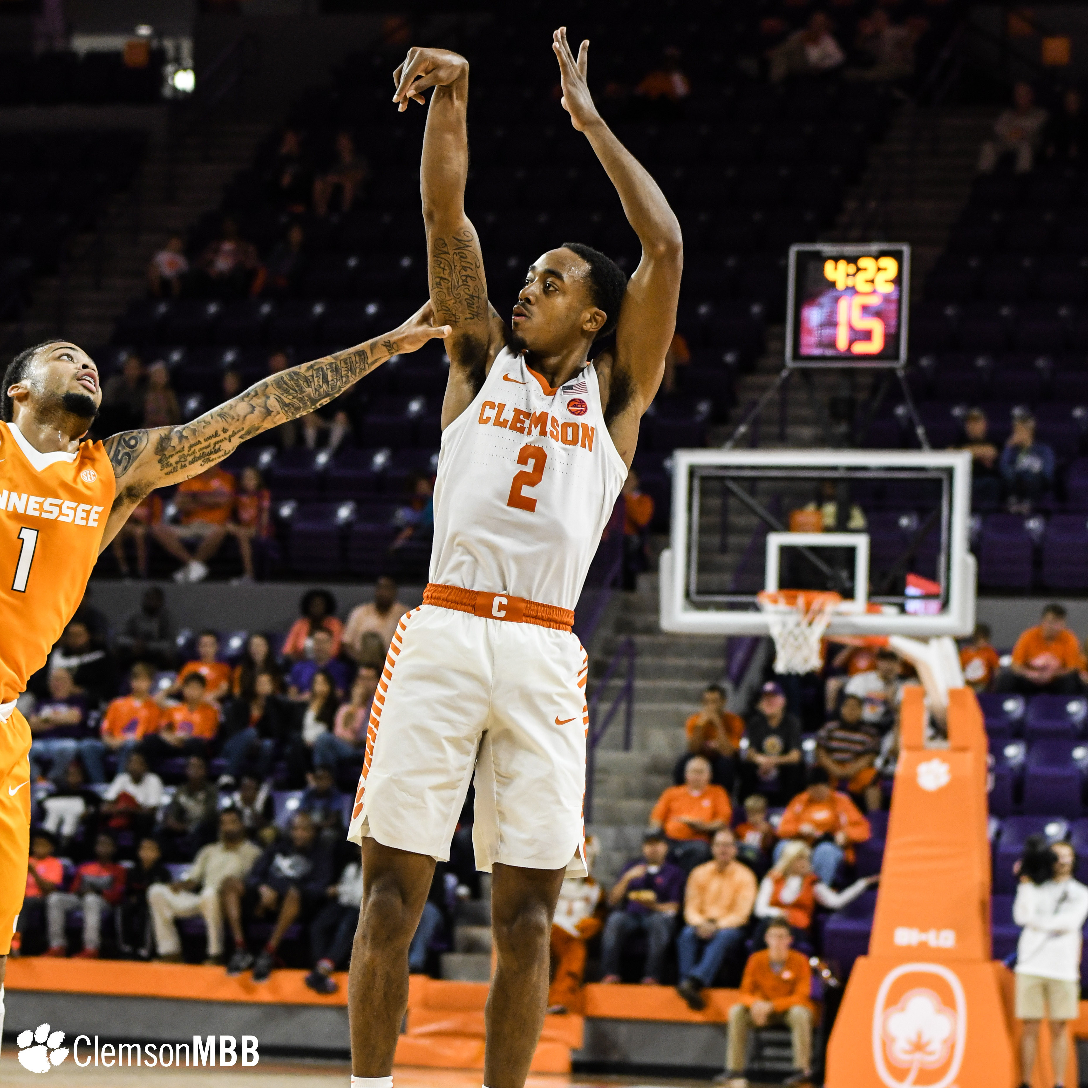 Tigers Fall to Tennessee on Sunday