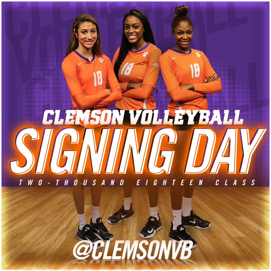 Volleyball Announces 2018 NLI Signees
