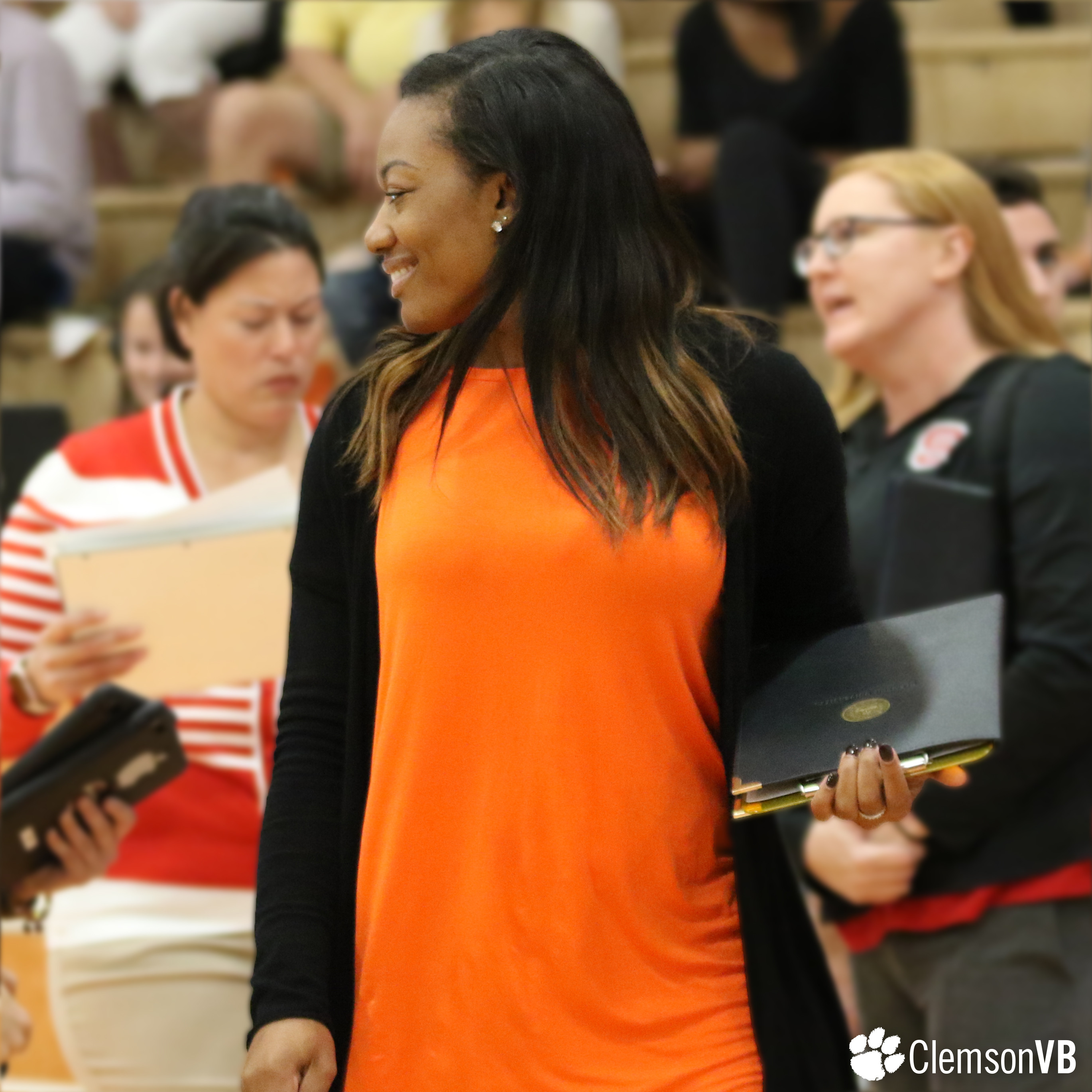 Volleyball Director of Ops Jones Honored by AVCA