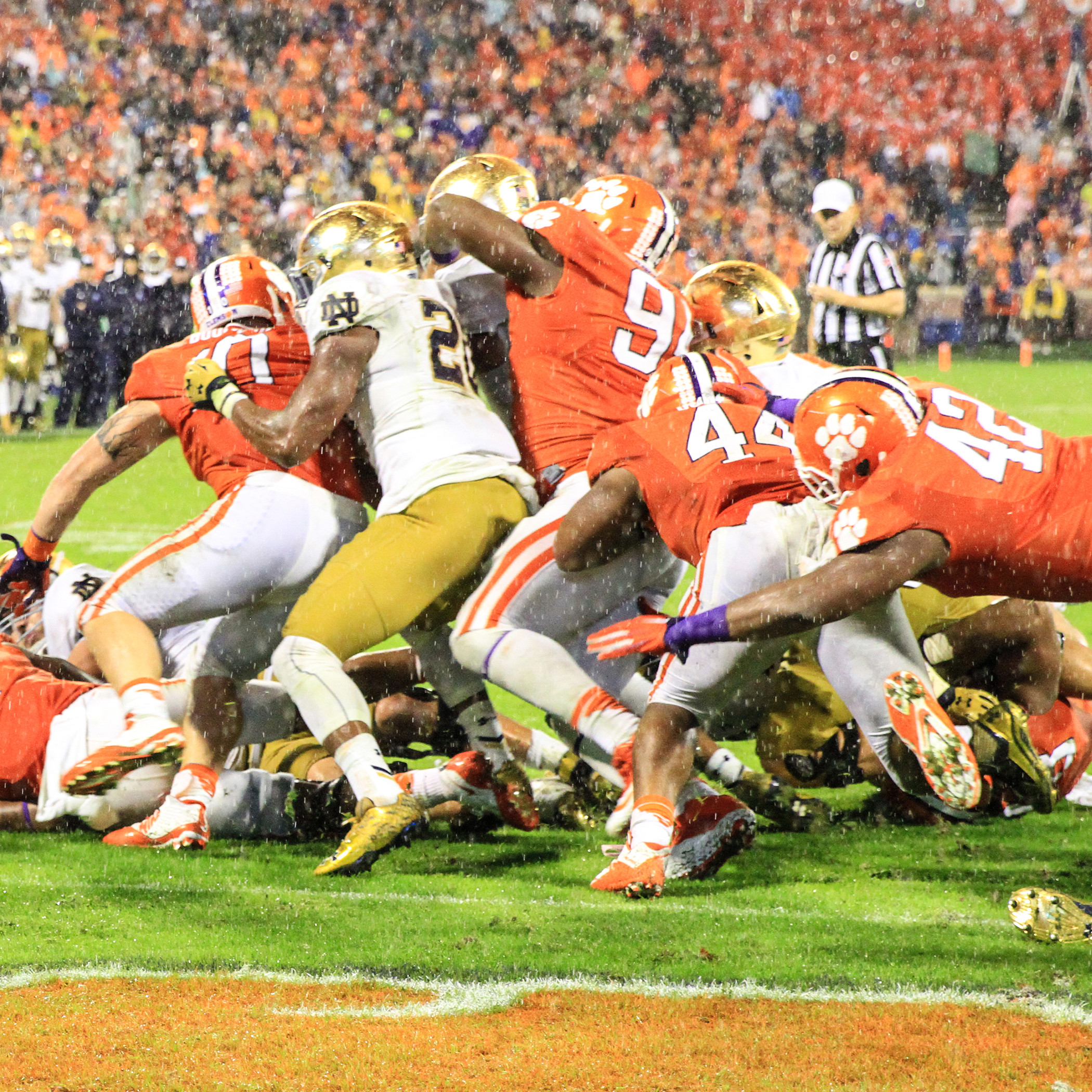 Tigers Make Stand Against ND