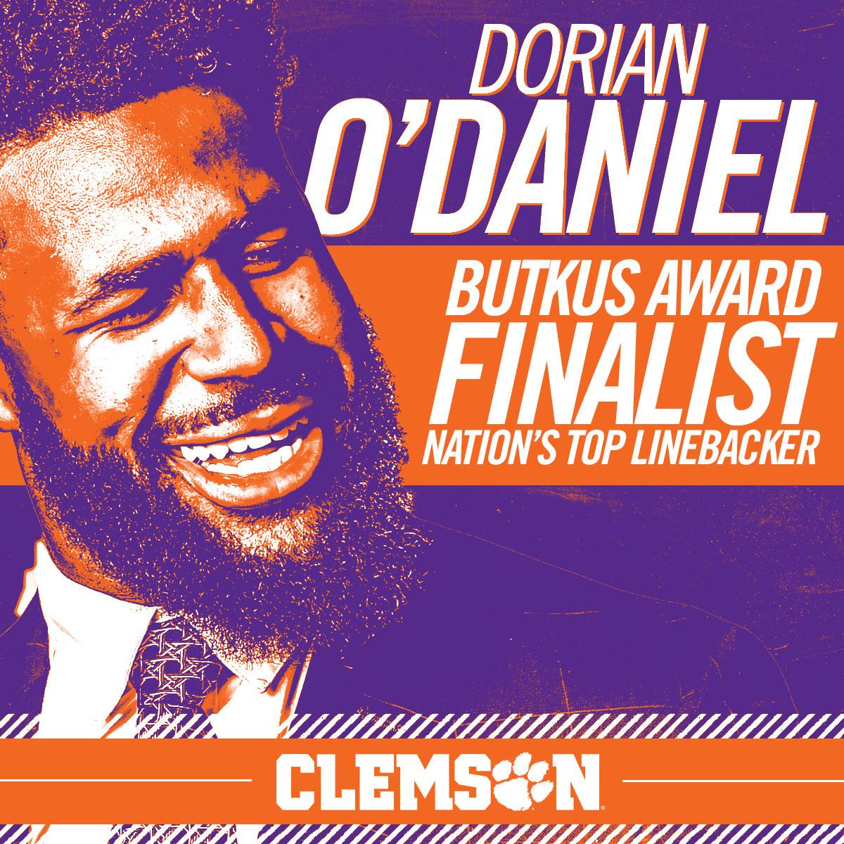 O'Daniel Named Butkus Finalist