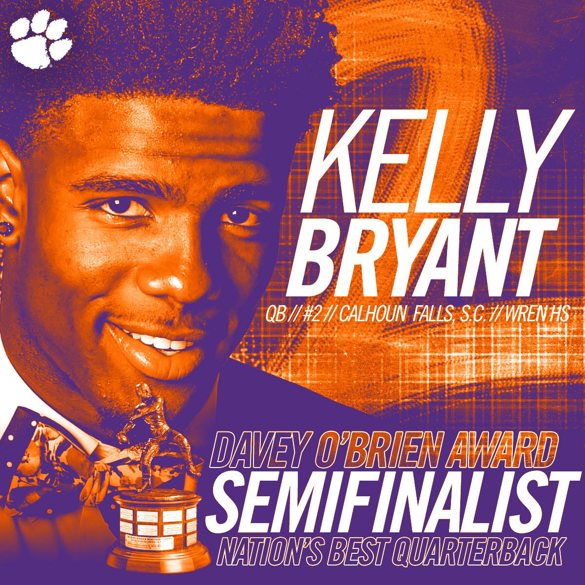 Bryant Semifinalist for O'Brien Award