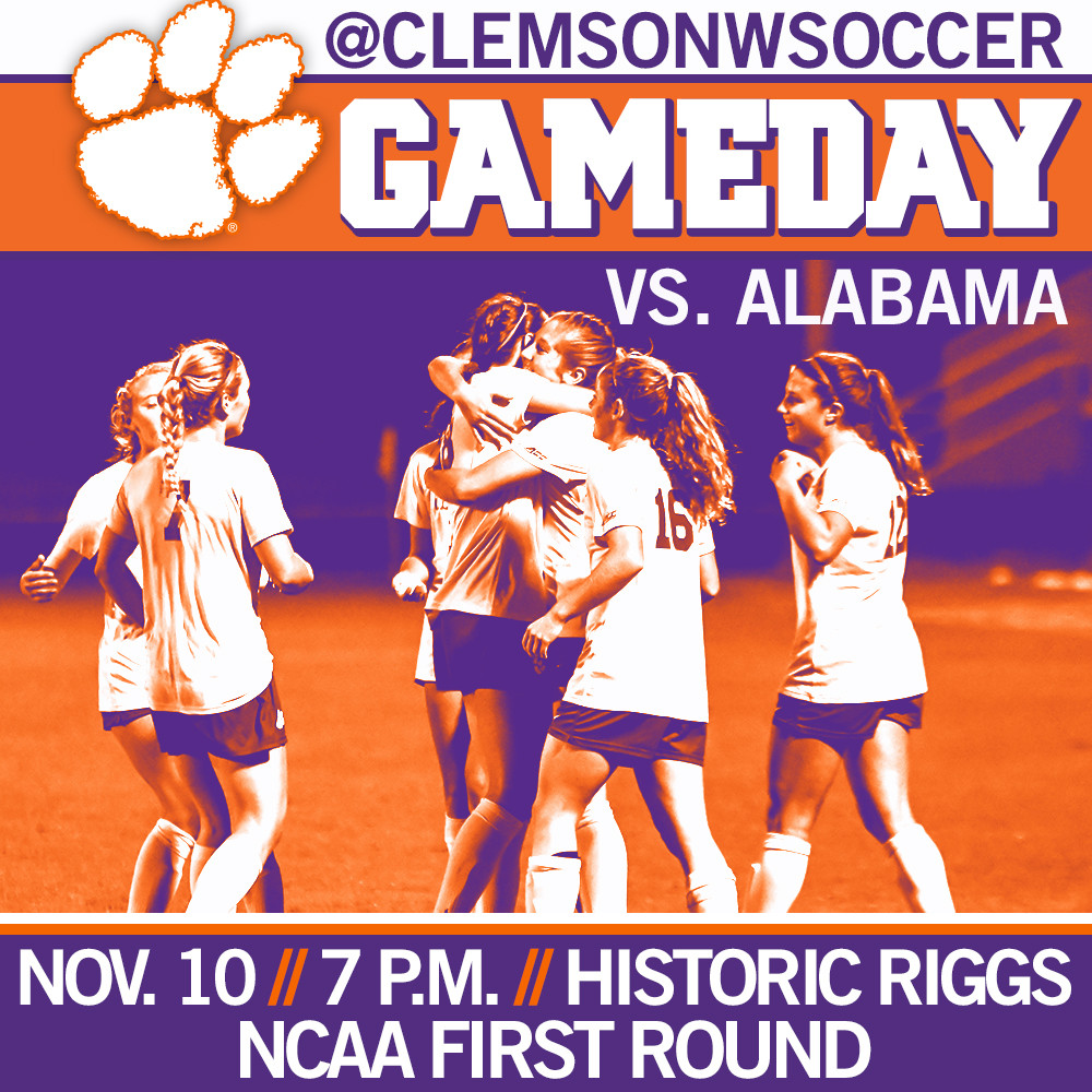 Clemson Earns NCAA Bid, Hosts Alabama in First Round on Friday