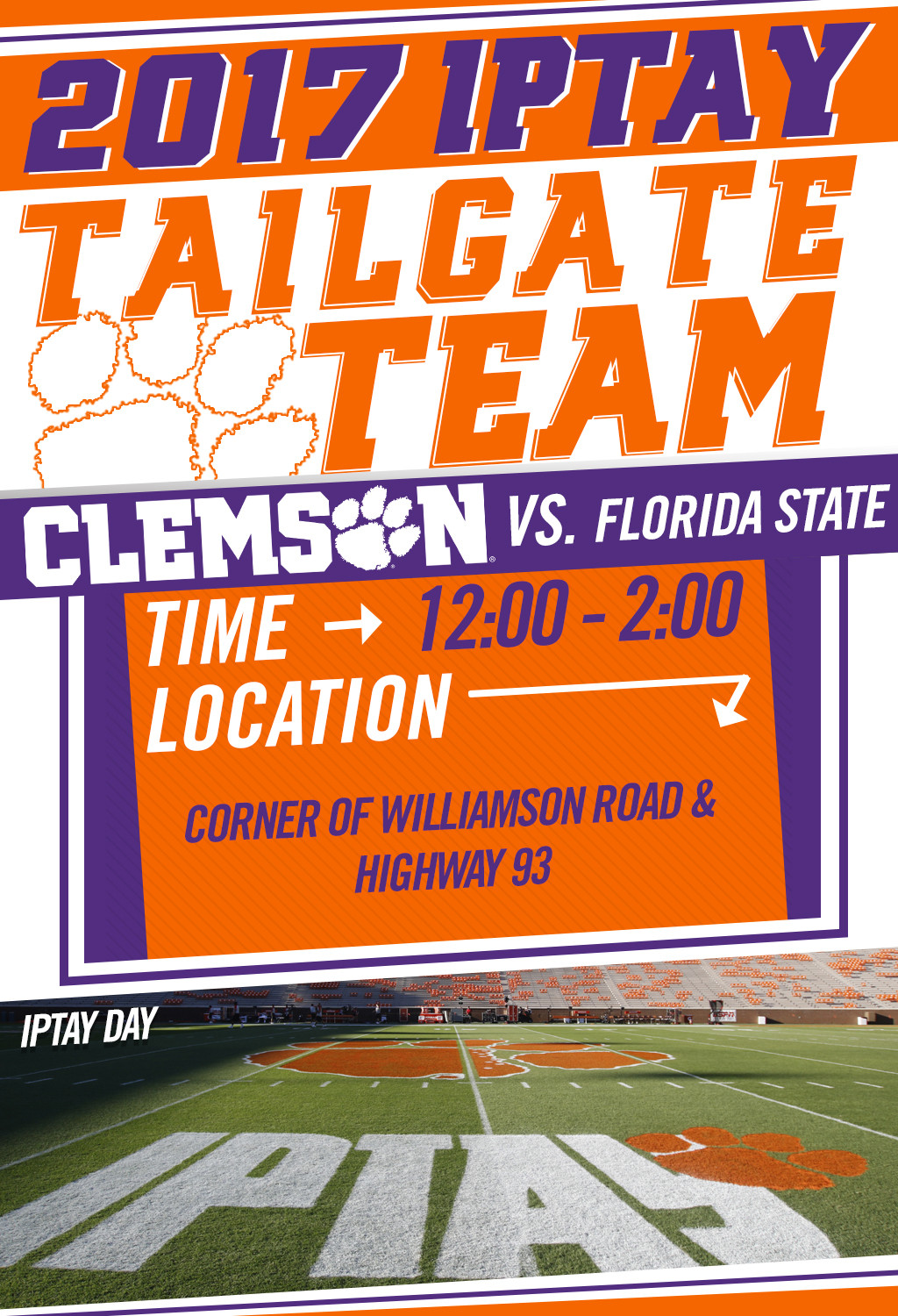 Tailgate Team Readies For Final Regular Season ACC Match-Up