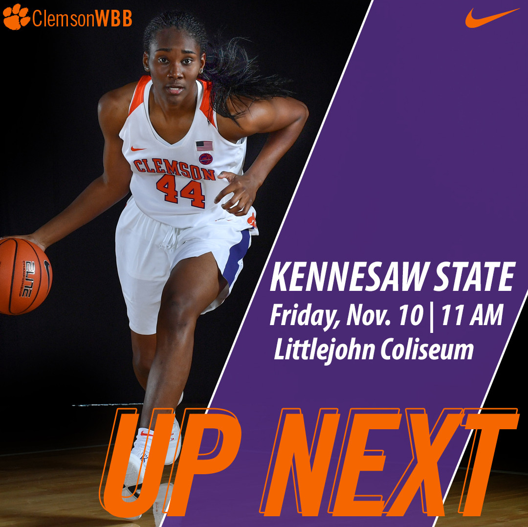 Clemson Hosts Kennesaw State in Season Opener Friday