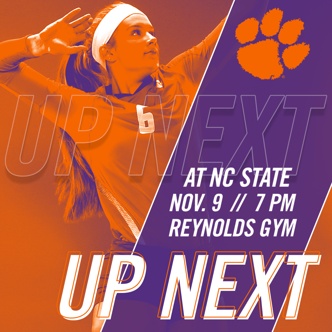 Volleyball Travels to NC State Thursday, UNC Saturday