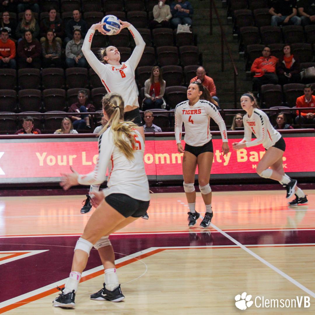 Volleyball Falls 3-1 at Virginia Tech Sunday