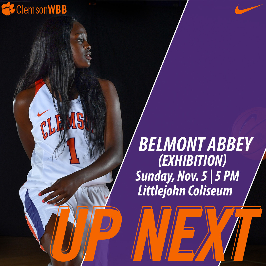 Tigers Host Belmont Abbey in Exhibition Sunday at Littlejohn