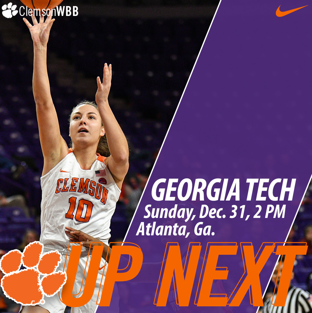 Tigers Open ACC Play at Georgia Tech Sunday