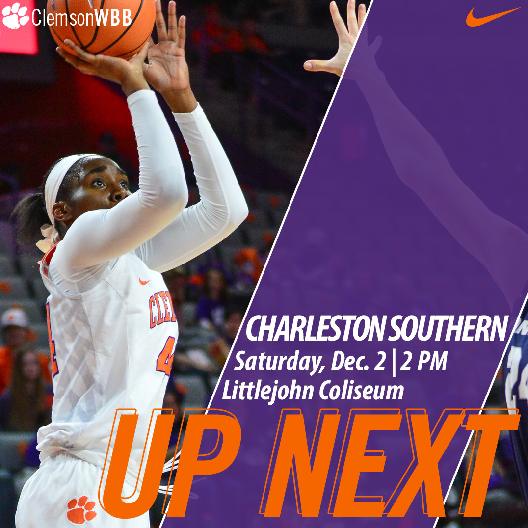 Tigers Host Charleston Southern Saturday Afternoon