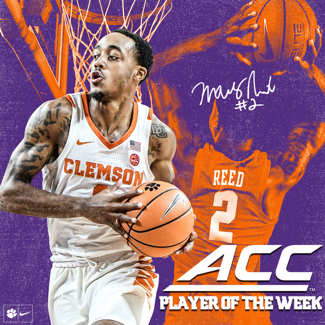 Marcquise Reed Named ACC Player of the Week