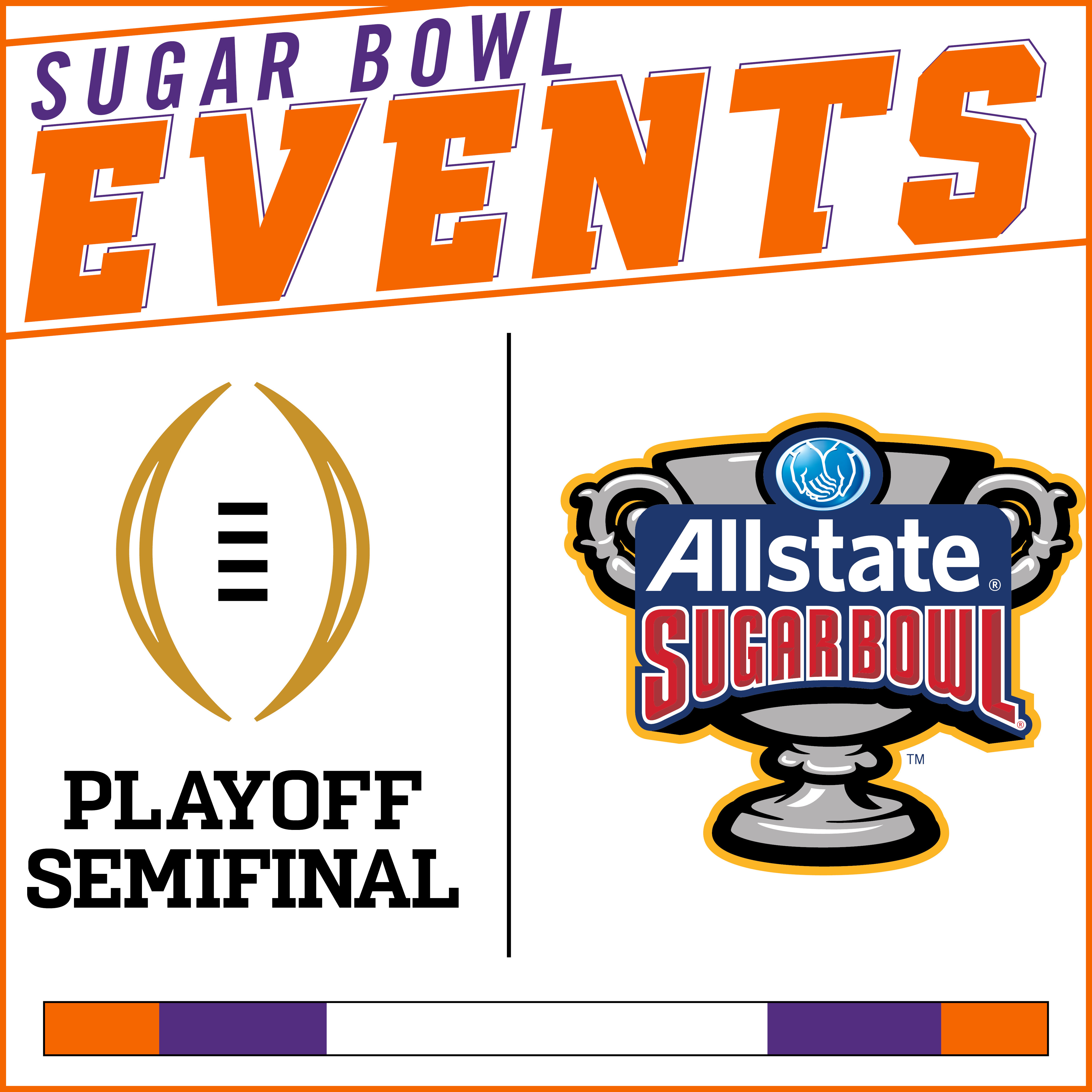 2018 Allstate Sugar Bowl Events
