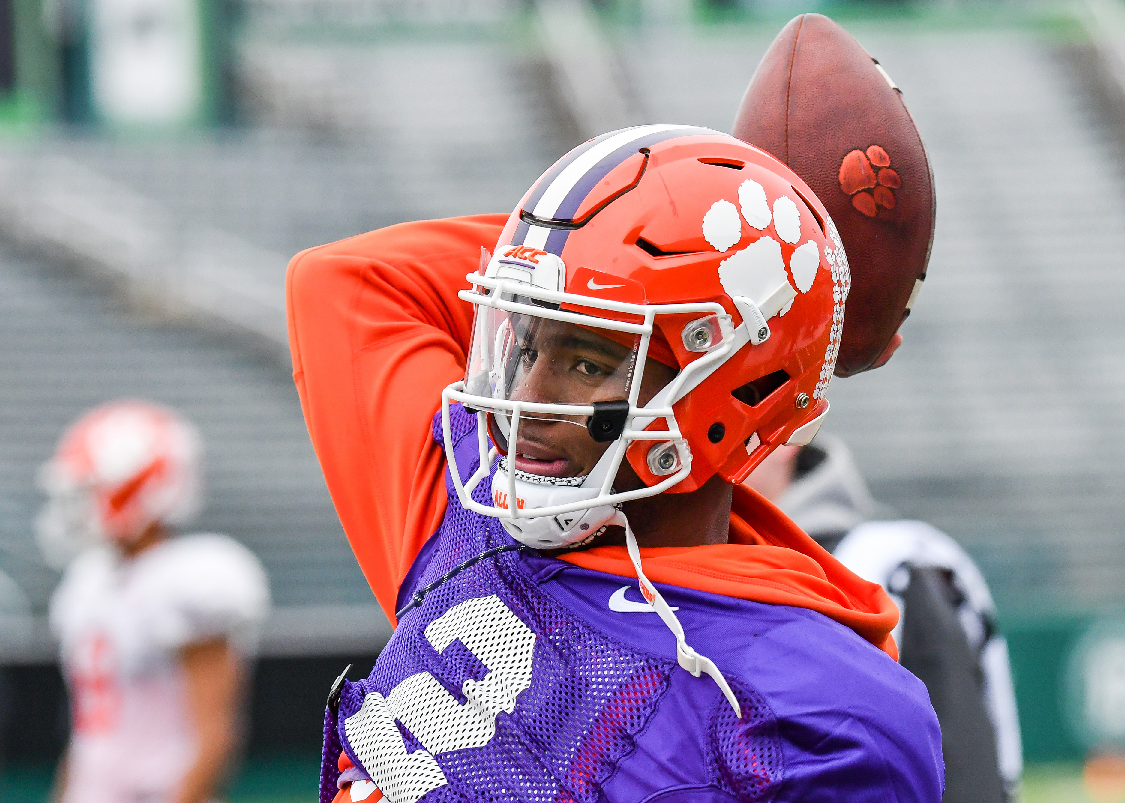 Clemson Opens Practice in New Orleans
