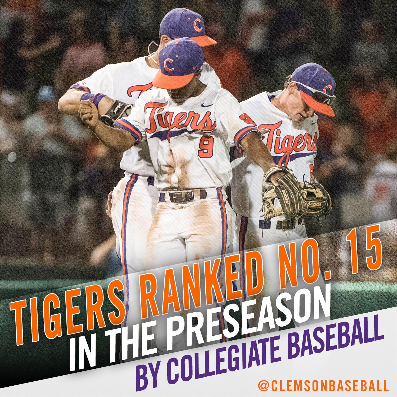 Tigers No. 15 in Preseason Poll