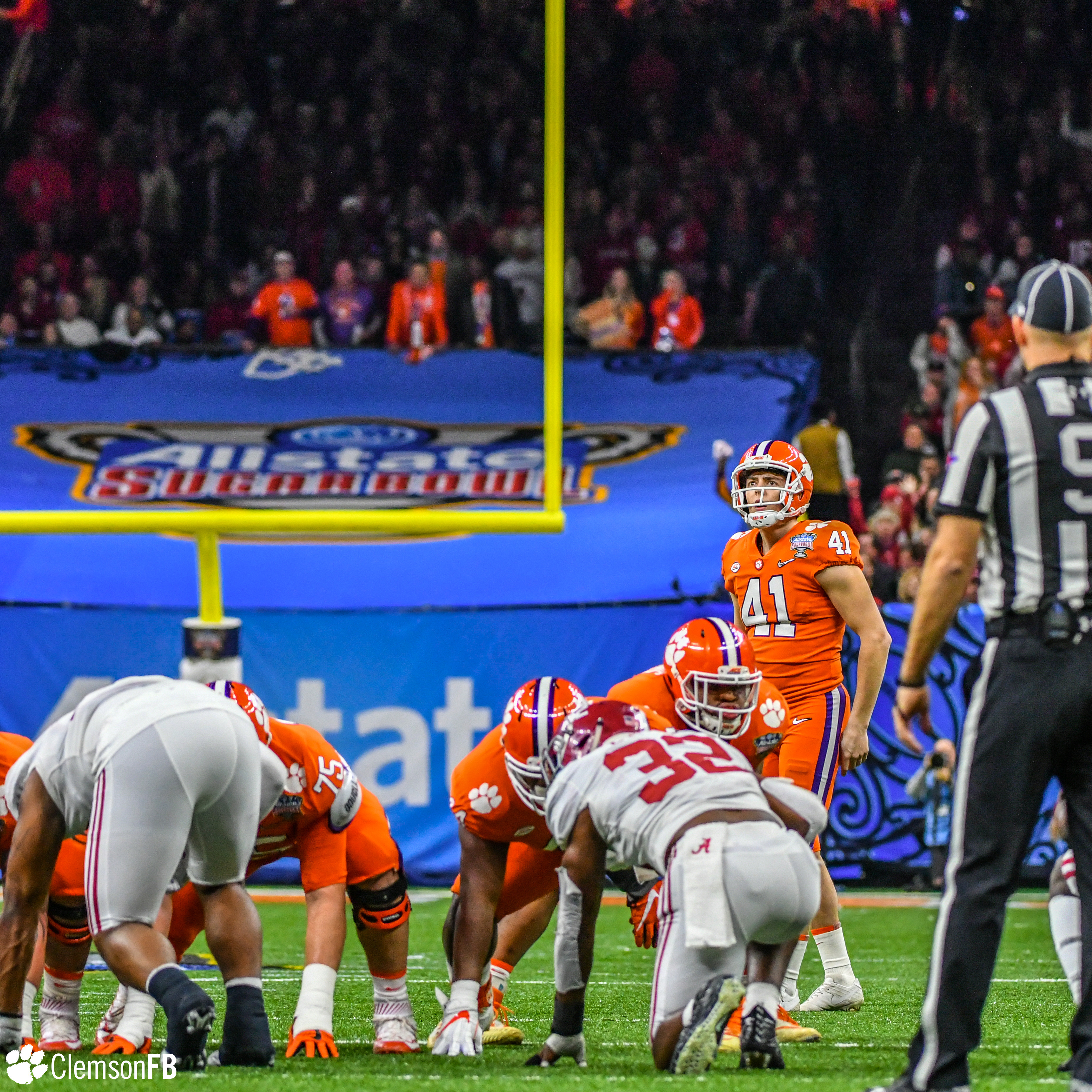 No. 1 Clemson Falls to No. 4 Alabama in Sugar Bowl