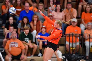 Clemson Volleyball || On The Recruiting Trail with Jackie Simpson-Kirr