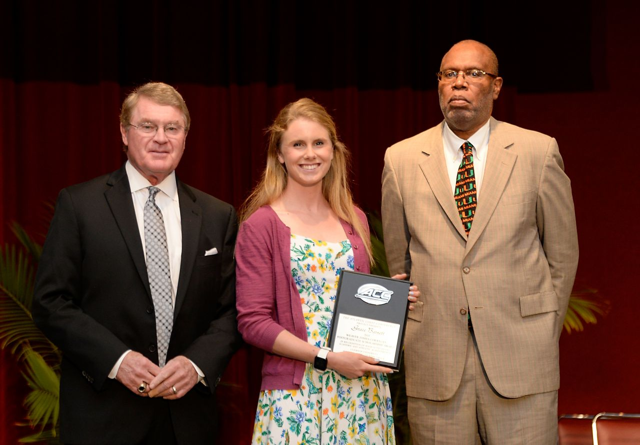 Barnett Recipient of Weaver-James-Corrigan Scholarship