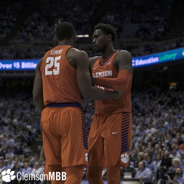Late Surge Falls Short in No. 20 Tigers' 87-79 Loss at UNC