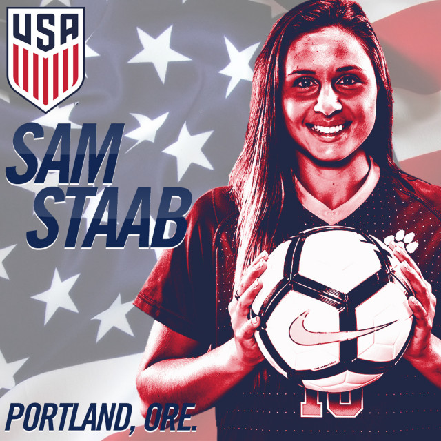 Staab Back in Action with U.S. U-23 WNT