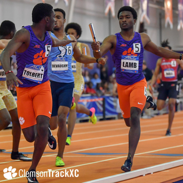 4x400m Relays Set ACC Championship Records Saturday