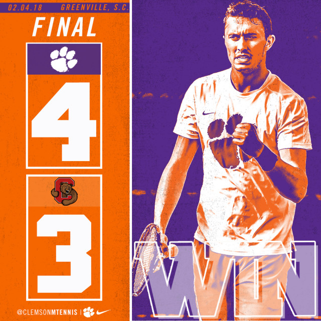 Clemson Defeats Cornell For First Time In Program History