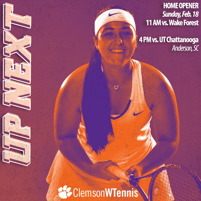Clemson Hosts No. 11 Wake Forest and UT Chattanooga for Home Opener