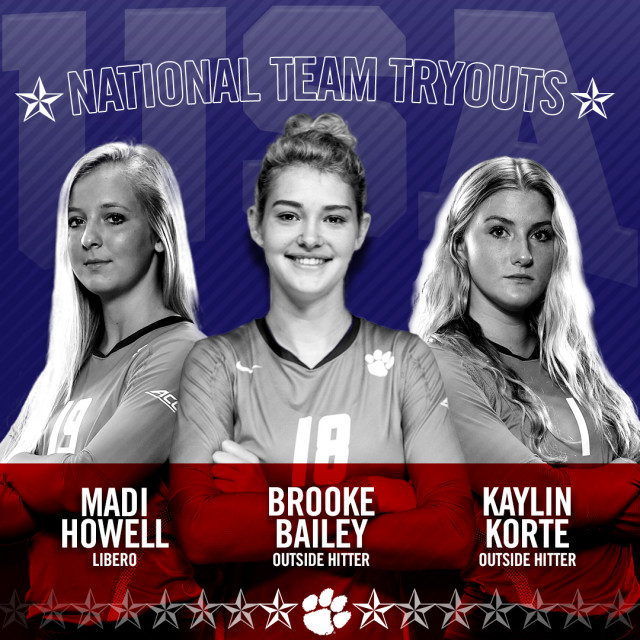 Bailey, Korte, Howell to Try Out for Team USA