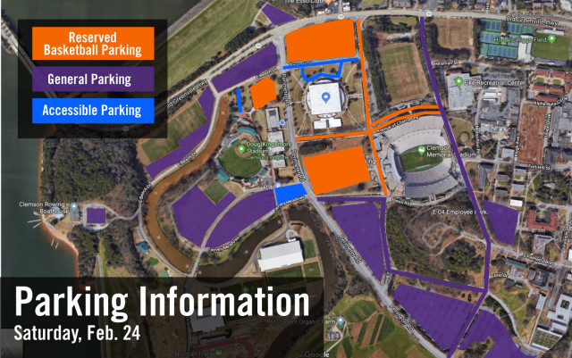 Clemson Preparing for Busy Saturday in Athletic District
