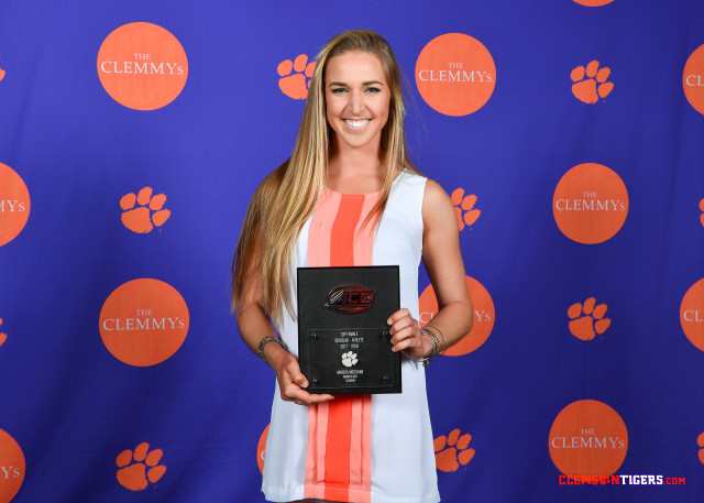 Messana Named to Clemson Athletics Academic Hall of Fame