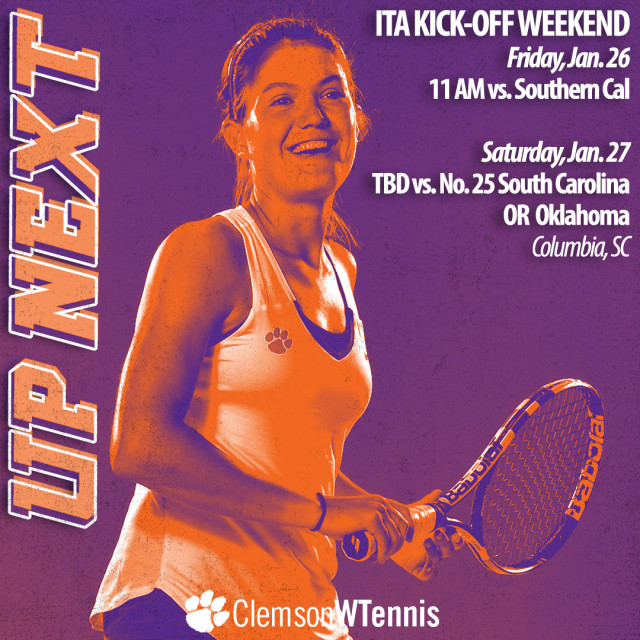 Tigers Head to Columbia for ITA Kick-Off Weekend