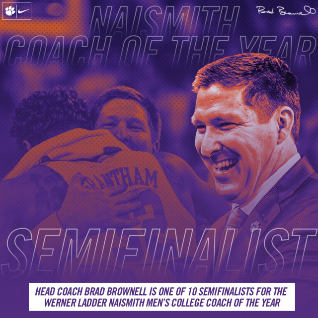 Brad Brownell Named Semifinalist for Naismith Coach of the Year