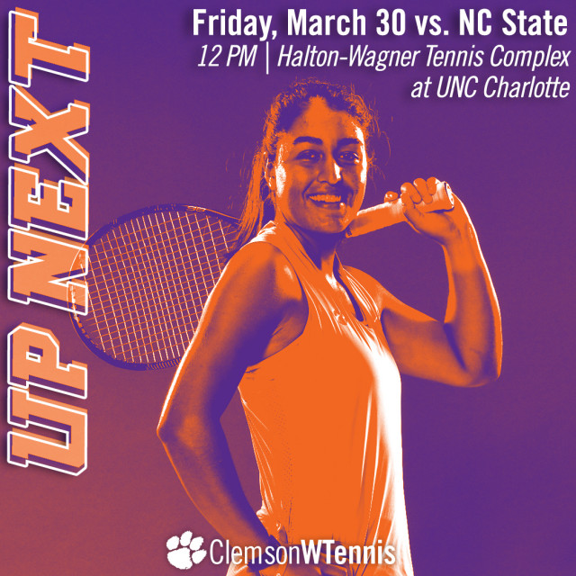 Tigers Host NC State in Charlotte Friday, Notre Dame in Anderson Sunday