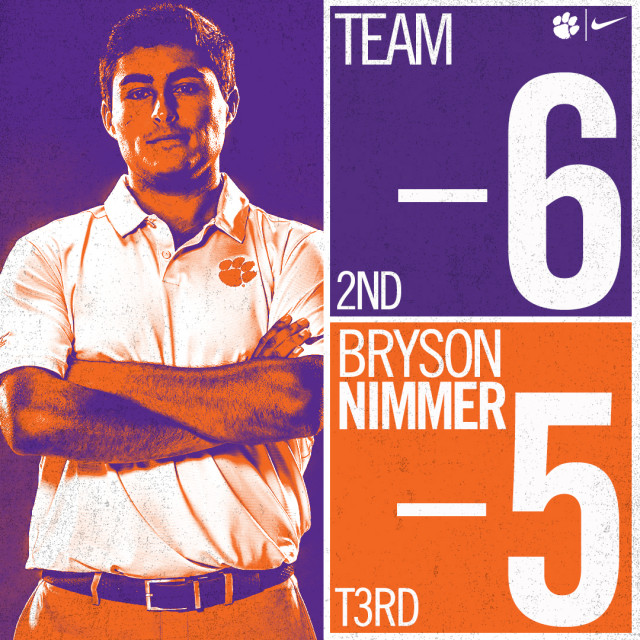 Clemson in Second After First Round of Bandon Dunes Championship