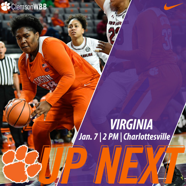 Tigers Travel to Virginia for Sunday Matinee