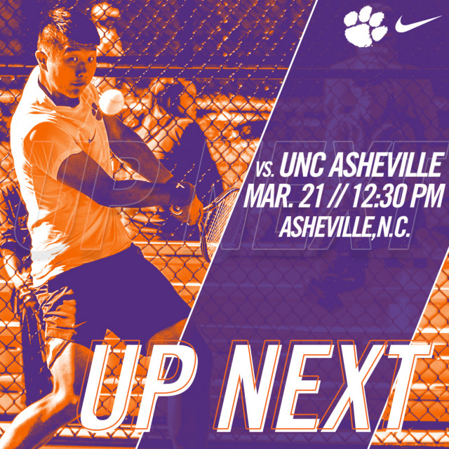 Tigers Set to Face UNC Asheville on Wednesday