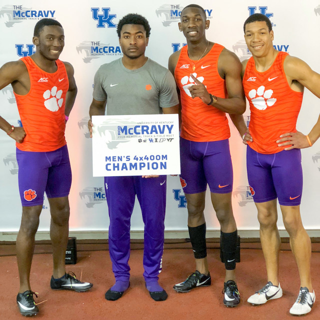 Men's 4x400m Relay Wins at Rod McCravy Memorial