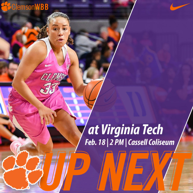 Tigers Face Virginia Tech in Blacksburg Sunday