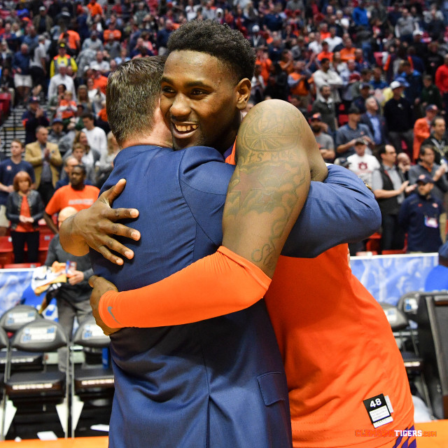 Clemson Heads To Sweet 16 With Record-Setting Win Over Auburn