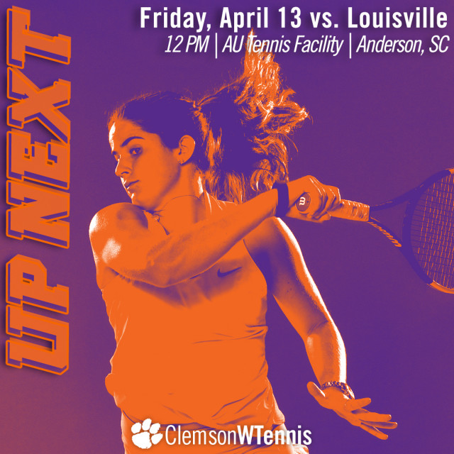 Tigers Host Louisville Friday, No. 1 North Carolina Sunday