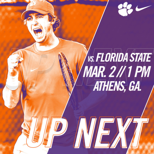 Clemson Faces Florida State in Athens Friday