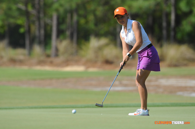 Clemson Fifth after Two Rounds of Gator Invitational