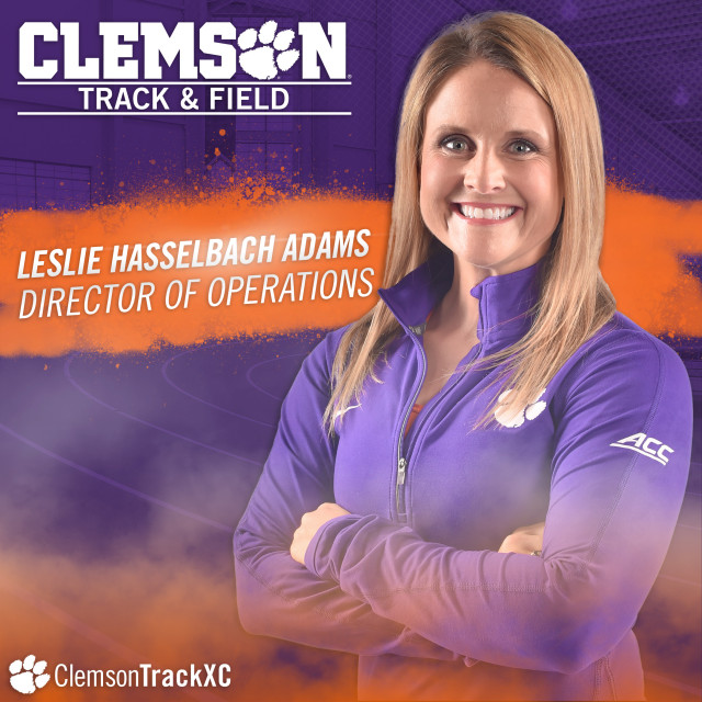 Hasselbach Adams Joins Track & Field as Director of Ops