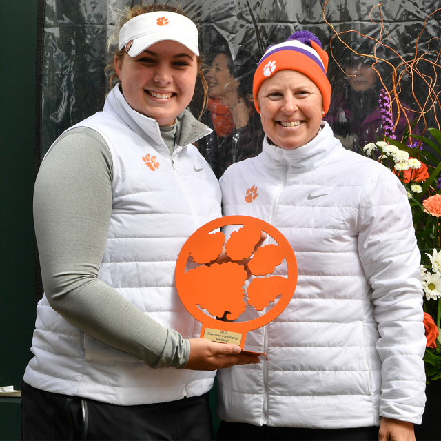 Hewson Wins Clemson Invitational, Tigers Finish Third