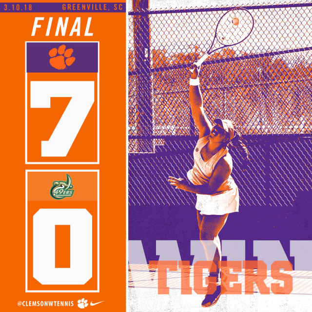 Tigers Pick Up Two Wins Saturday in Greenville
